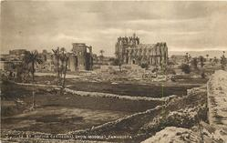 ST. SOPHIA CATHEDRAL (NOW MOSQUE), FAMAGUSTA  distant view
