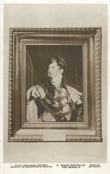 MOSAIC PORTRAIT OF KING GEORGE IV.