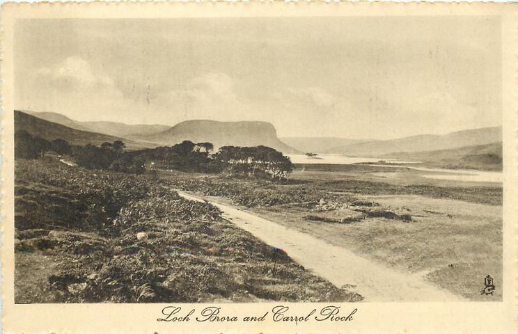 LOCH BRORA AND CAROL ROCK