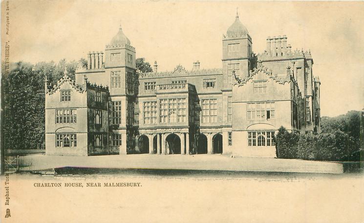CHARLTON HOUSE, NEAR MALMESBURY