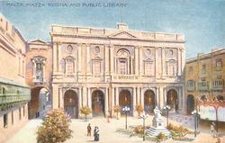 PIAZZA REGINA AND PUBLIC LIBRARY