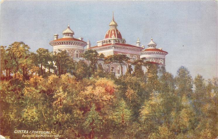 CINTRA (PORTUGAL), PALACIO DE MONSERRATE