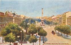 LISBOA (PORTUGAL), AVENIDA DA LIBERDADE