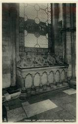 TOMB OF ARCHBISHOP HUBERT WALTER