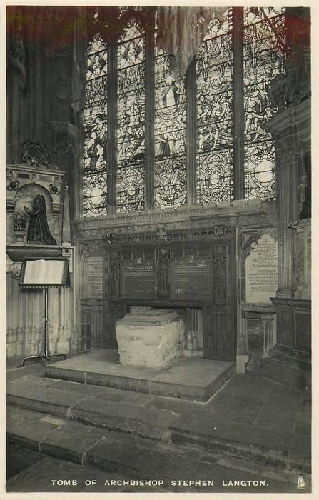 TOMB OF ARCHBISHOP STEPHEN LANGTON