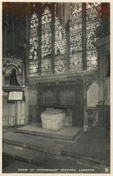 TOMB OF ARCHBISHOP STEPHEN LANGTON