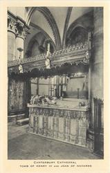 TOMB OF HENRY IV AND JOAN OF NAVARRE