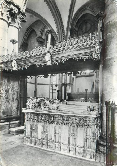 TOMB OF KING HENRY IV AND QUEEN JOAN OF NAVARRE
