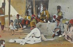 A VILLAGE SCENE, SOUTH PERSIA