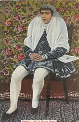 PERSIAN LADY IN HOME DRESS