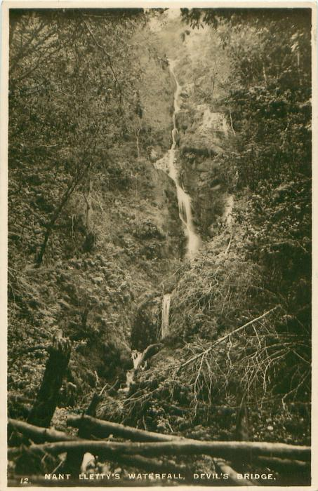 NANT LLETTY'S WATERFALL