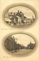 2 insets FORE STREET and FORE STREET