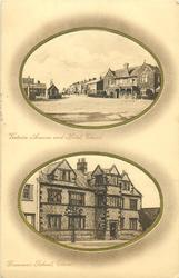 2 insets VICTORIA AVENUE AND HOTEL and GRAMMER SCHOOL