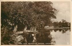THE LAKE, RECREATION GROUND