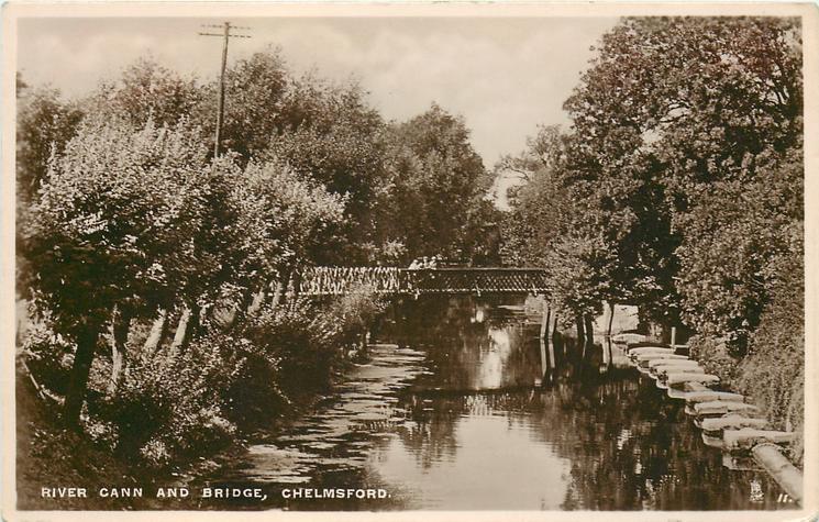 RIVER CANN AND BRIDGE