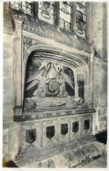 BISHOP SHERBORNE'S TOMB