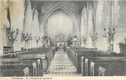 ST. LAWRENCE CHURCH  interior