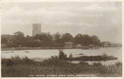 THE PRIORY CHURCH FROM WICK