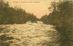 BRIDGE OF FEUGH (IN SPATE)