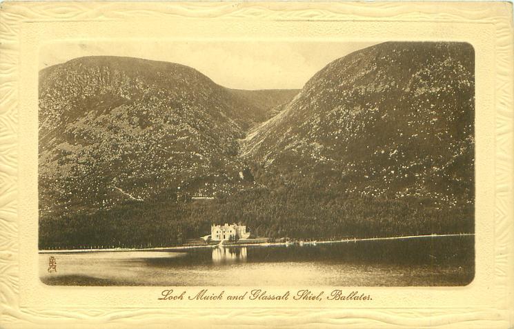 loch muick and glassalt shiel tuckdb postcards