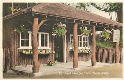 MR LLOYD GEORGE'S FARM SHOP  without horse & people