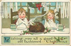 WISHING YOU ALL A GOOD OLD FASHIONED CHRISTMAS