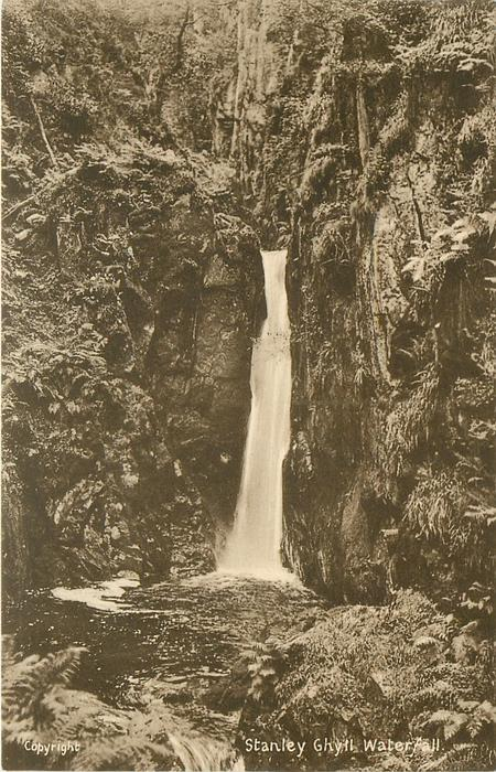 STANLEY GHYLL WATERFALL
