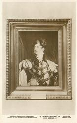 MOSAIC PORTRAIT OF KING GEORGE IV