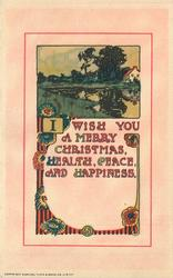 I WISH YOU A MERRY CHRISTMAS, HEALTH, PEACE, AND HAPPINESS