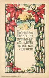 I AM THINKING OF YOU THIS CHRISTMAS DAY AND WISHING YOU ALL GOOD CHEER