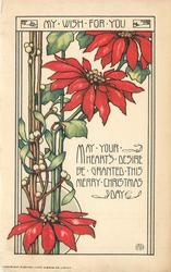 MY WISH FOR YOU  MAY YOUR HEART'S DESIRE BE GRANTED THIS MERRY CHRISTMAS DAY