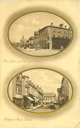 2 insets POST OFFICE AND CORN HILL and HOLYRUDE STREET