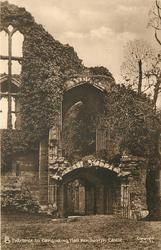 ENTRANCE TO BANQUETING HALL, KENILWORTH CASTLE