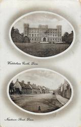 2 insets WEDDERBURN CASTLE, DUNS and NEWTOWN STREET, DUNS
