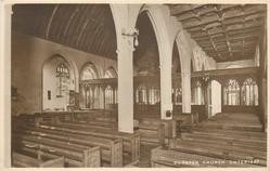 DUNSTER CHURCH (INTERIOR)
