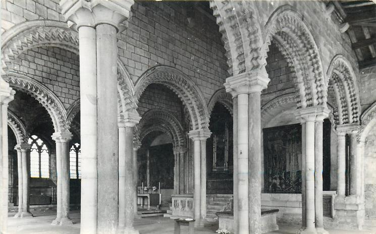 GALILEE CHAPEL WITH TOMB OF THE VENERABLE BEDE
