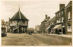 MARKET CROSS or WYMONDHAM MARKET CROSS
