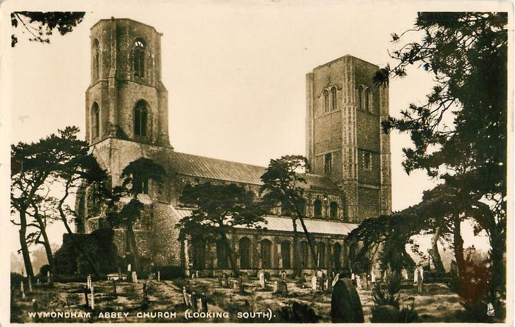 WYMONDHAM ABBEY CHURCH (LOOKING SOUTH)