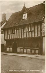 YE OLDE GREEN DRAGON INN