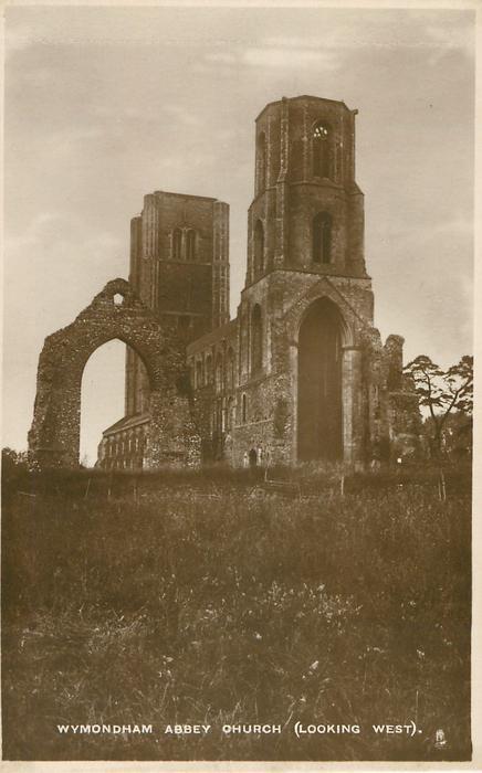 WYMONDHAM ABBEY CHURCH (LOOKING WEST)