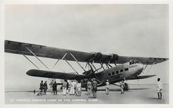 HORSA (on aircraft), AN IMPERIAL AIRWAYS LINER OF THE HANNIBAL CLASS