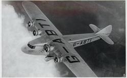 ATALANTA, G-ABTL (on aircraft), IMPERIAL AIRWAYS LINER OF THE ATALANTA CLASS