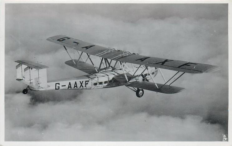 G-AAXF (on aircraft), IMPERIAL AIRWAYS HANNIBAL CLASS, USED ON THE AFRICA AND INDIA SERVICES