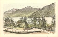 BEN LAWERS AND LOCH TAY FROM KENMORE