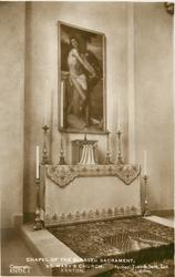 CHAPEL OF THE BLESSED SACRAMENT, ST. MARY'S CHURCH