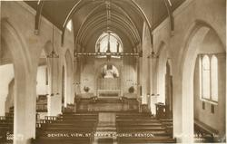 GENERAL VIEW, ST. MARY'S CHURCH  interior