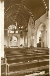 THE NAVE, ST. MARY'S CHURCH