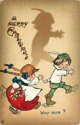 A MERRY CHRISTMAS  WHY RUN?