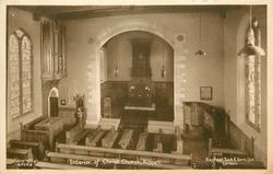INTERIOR OF CHRIST CHURCH