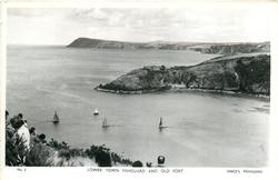 LOWER TOWN FISHGUARD AND OLD FORT